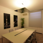 Sala riunioni in co-working a Milano affiliato rete Cowo