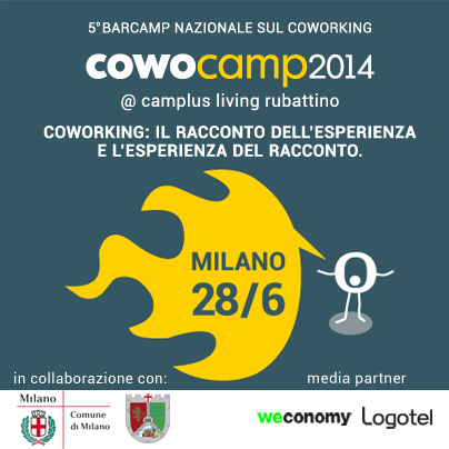 Barcamp Nazionale del Coworking by Cowo - CowoCamp14