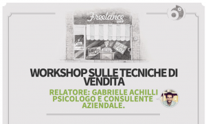 Coworking Cowo Sesto San Giovanni: Workshop tecniche di vendita