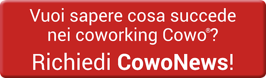 Vuoi sapere cosa succede nei Cowo? Richiedi ora la newsletter CowoNews e rimani aggiornato :-)