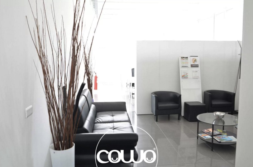 Meeting al Coworking Rozzano Milano: reception