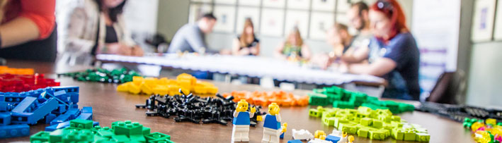 Workshop Lego Serious Play per il Coworking