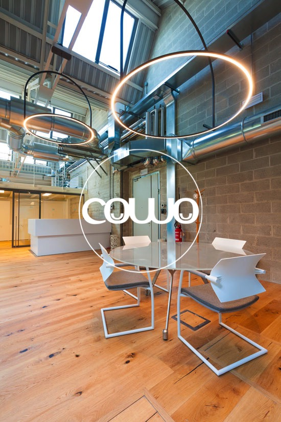 Meeting Area at Coworking Milano Bicocca Village
